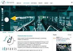 Screenshot Website idpraxis.de